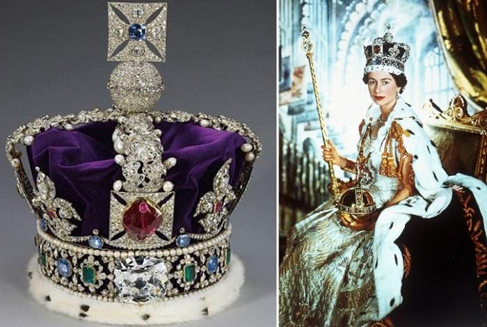 Скипетр и корона Британской Империи. | Фото: 3.bp.blogspot.com.
